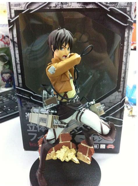 Furyu Attack On Titan Eren Figure Mikasa Figure Set mikasa ackerman eren jaeger attack on titan furyu figure doll for great gifts in