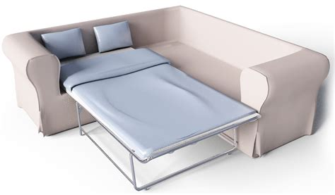 Ektorp Corner Sofa Bed Cad And Bim Object Ektorp 2 Seat Corner Bed Sofa Ikea