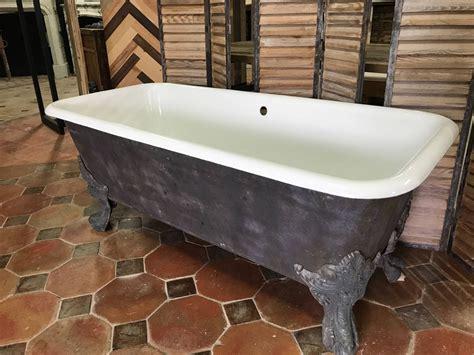 baignoire en fonte baignoire ancienne fonte 233 maill 233 baignoire ancienne sur