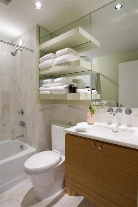 brilliant space saving ideas for small bathrooms paperblog