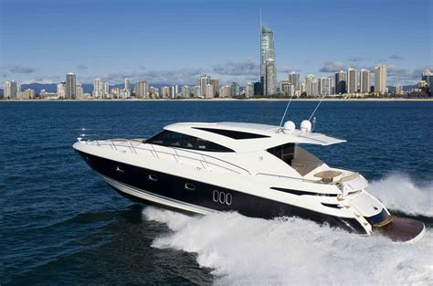 boat parts gold coast riviera s 5800 sport yacht features volvo penta ips which