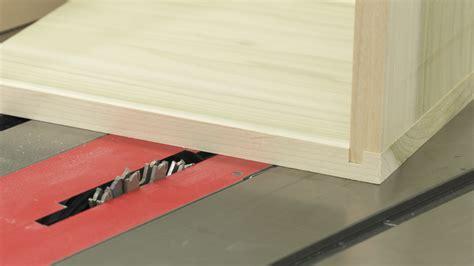 dado cut table saw table saw dado cuts create lock joints wwgoa