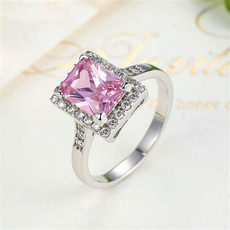 Murah Cincin Bibir Pink cincin wanita zirconia size 7 pink jakartanotebook