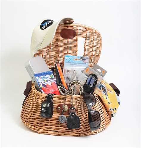 Gifts For Your From On The Fly by Fly Fisherman Gift Basket Gift Ftempo