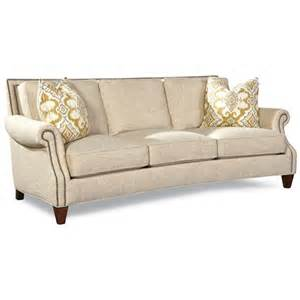 Huntington House Sofa Review by Geoffrey 7249 Transitional Sofa With Rolled Arms