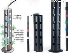 flower towers gardening    pvc pipe
