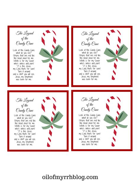 printable version of the legend of the christmas spider candy cane legend color printable