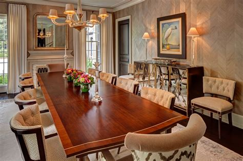 formal dining room decor laura u interior design houston texas aspen colorado