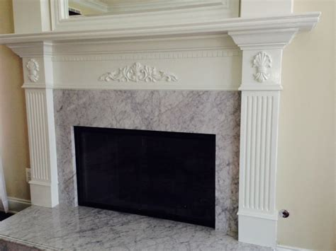 mki custom trimwork and painting fireplace mantels