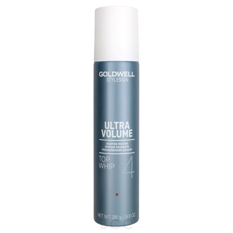 Goldwell Ultra Volume Sho goldwell stylesign ultra volume top whip shaping mousse
