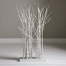 6 ft birch cluster tree buy lewis pre lit birch cluster 4ft at johnlewis twig trees with lights