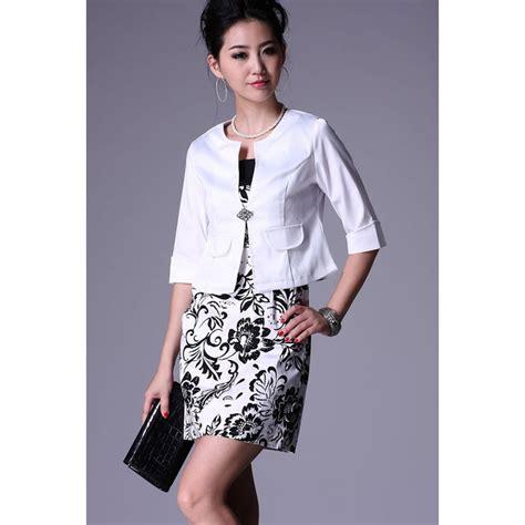 korean occupation ol slim vest skirt suit s two