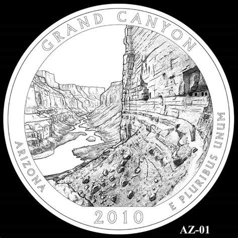 design quarter grand canyon national park quarter arizona 2010