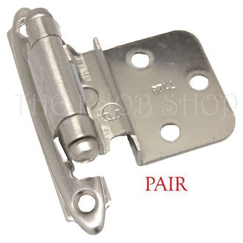 offset hinges for cabinet doors offset cabinet door hinges amerock 7128 g10 satin nickel