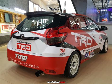 film balap mobil indonesia toyota hadirkan mobil balap tti di giias 2017