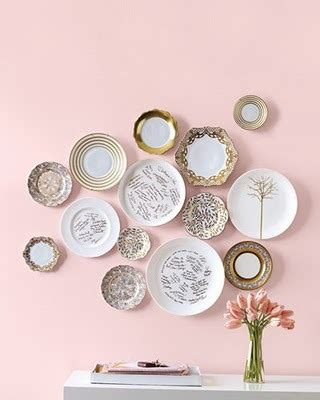 Wall Plate Decor by Style Decor More Pretty Plates On Display Creative
