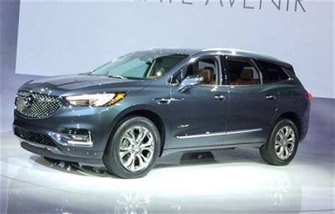 2018 buick enclave avenir: price, interior, colors 2018