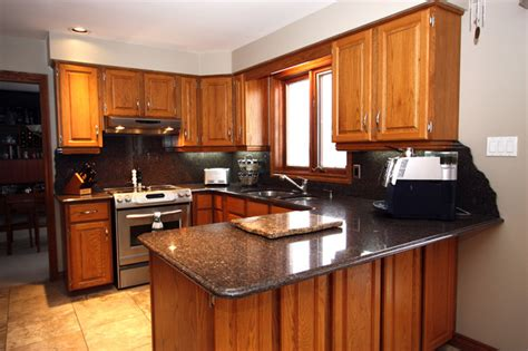 Kitchens With Light Oak Cabinets by Granite Traditional Kitchen Other Metro By The Top