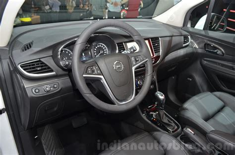 opel mokka interior opel mokka x interior at the 2016 geneva motor show live