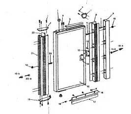 Glass Shower Door Parts Sears Sears Pivot Shower Door Parts Model 39268491 Sears Partsdirect