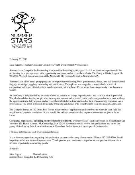 Thank You Letter For Counseling Letter To Parents Teachers Guidance Counselors 2012