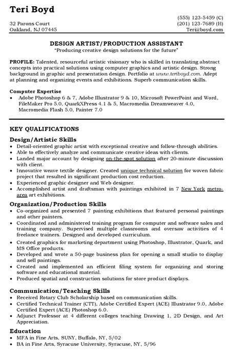 administrative coordinator resume sle sle resume education field sle cv for primary school