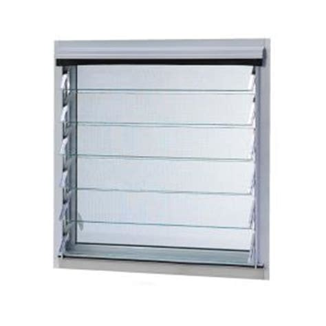 tafco windows 32 in x 13 875 in jalousie utility louver