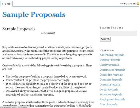 government business template sle proposals rubysyed fotolog