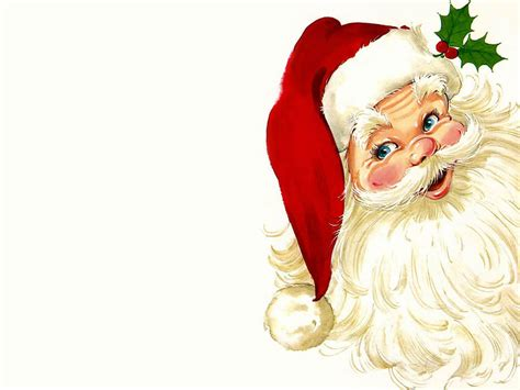 santa claus christmas wallpaper 2736343 fanpop