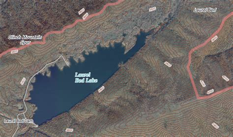 laurel bed lake russell county geography of virginia