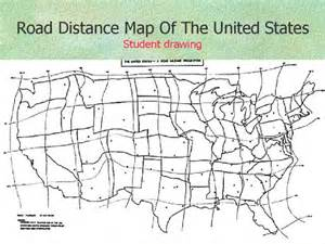 us map with driving distances road distance map of the united states