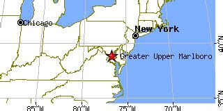 zip code map upper marlboro md greater upper marlboro maryland md population data