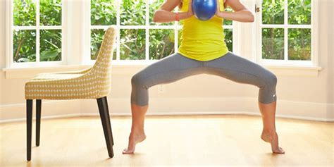 Barre Workout At Home by 4 Barre Exercises You Can Do At Home Huffpost