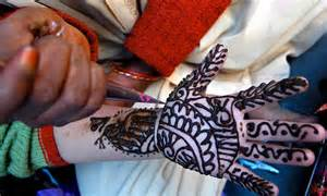 henna tattoos and hair dyes are to blame for a rise in