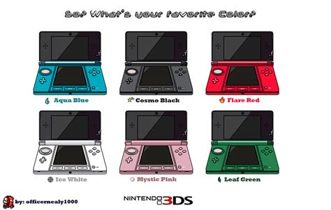 3ds colors by officernealy1000 on deviantart