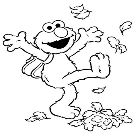 Printable Elmo Coloring Pages free printable elmo coloring pages for