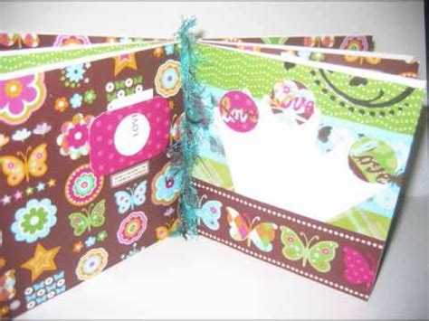 How To Make A Handmade Scrapbook Album - handmade paper bag scrapbook albums