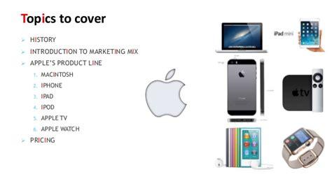Marketing Mix of Apple Inc