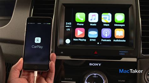 fords sync  apple carplay features   youtube