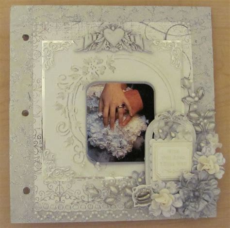 Wedding Album Scrapbook Ideas by Wedding Scrapbook Cover Ideas Www Pixshark Images
