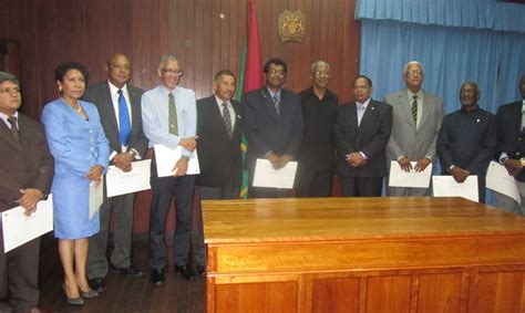 Guyana Cabinet by Granger Creates More Ministries Ramjattan Named 2nd Vice