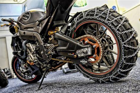 Schneeketten F R Motorrad by Mad Max Sound Modellnews