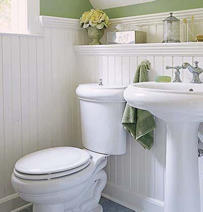 Wainscot Bathroom Pictures by Wainscoting Ideas