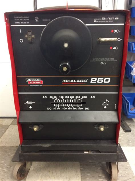 lincoln welder 250 stick welder lincoln idealarc 250 a c d c sold wel