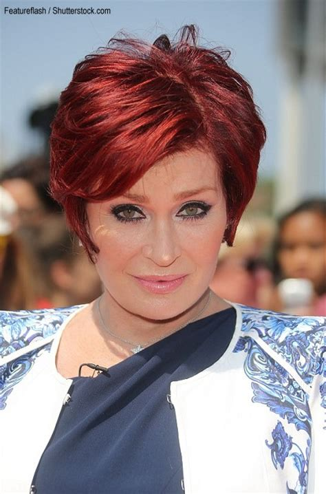 Sharon Osbourne Hair Styles 2013   Short Hairstyle 2013