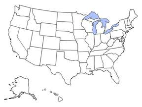 blank map of the united states applique