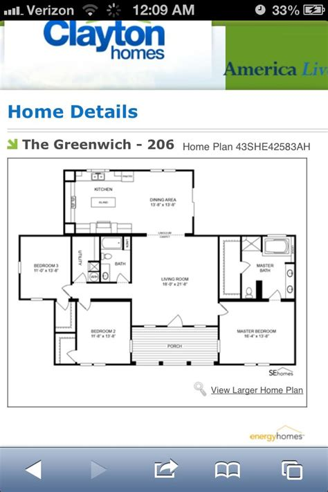 Clayton Mobile Homes Floor Plans by Clayton Triple Wide Greenwich Finding Our Dream Home