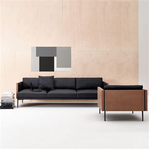 swan living room sofa loveseat 97b steeve sofa jean massaud arper suite ny