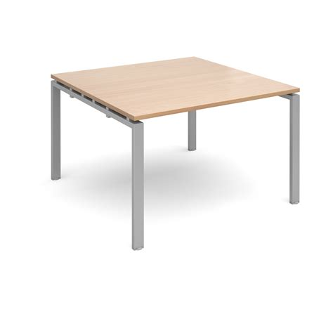 Beech Boardroom Table Adapt Ii Boardroom Table 1200x1200mm Silver Beech Www Mantonoffice Co Uk Furniture Workplace