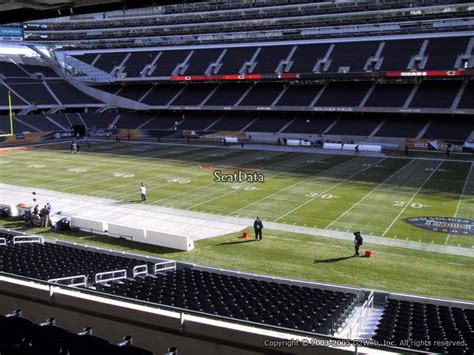 Soldier Field Media Deck by Soldier Field Section 233 Chicago Bears Rateyourseats